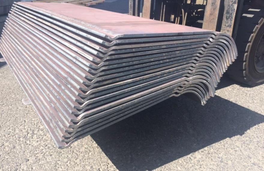 Gięcie aluminium, Wyginanie blachy