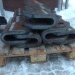 Grube elementy konstrukcji, Gięcie blach grubych