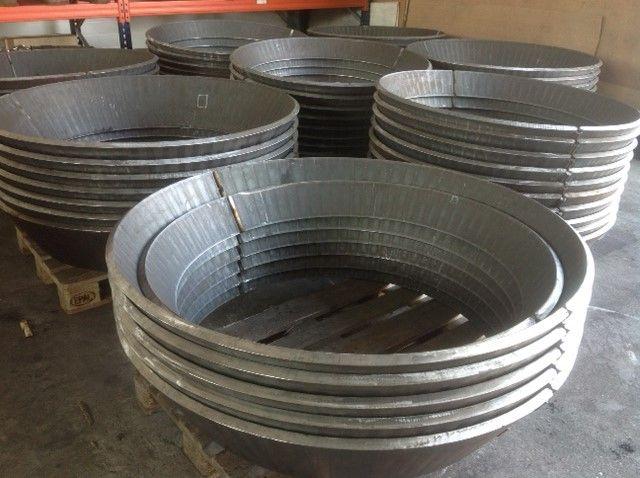 Gięcie blach Aluminiowych, Gięcie CNC
